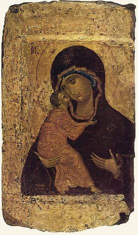 Владимирская икона Божией Матери. Андрей Рублев.