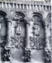 Владимир. Дмитриевский собор. Рельефы центрального прясла западного фасада