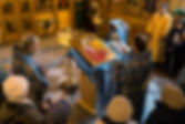 освящение иконы святой Матроны Московской
