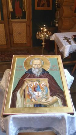 Икона прп. Андрея Рублёва