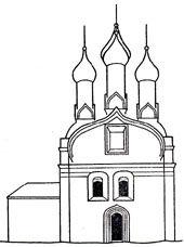 Успенская церковь на Ильинской горе в Нижнем Новгороде