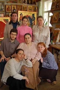Ирина Васильевна Ватагина с учениками