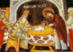 икона Обрезание Господне