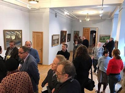 Выставка произведений А.П.Горского. 17.04.2017