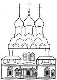Восточная сторона храма Святителя Николая в Пыжах
