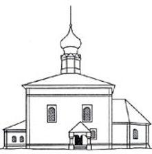 Церковь Воскресения Христова, 1720 (Суздаль). Южная сторона.