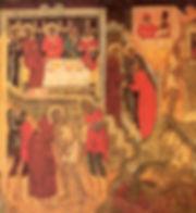 Церковь Троицы в Никитниках. Западная стена. Притча о блудном сыне.
