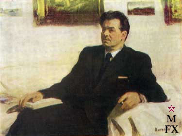Портерт Леонида Леонова. 1949. ГРМ