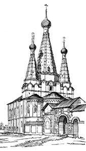 Церковь Успения Пресвятой Богородицы Дивная в Угличе