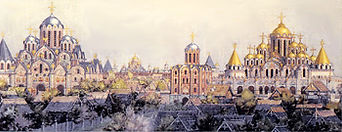 Центр Киева.XI век. Г.Мокеев