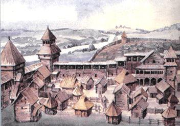 Град Слободка. XII век. Г. Борисевич