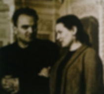 Василий Нечитайло и Мария Савченкова