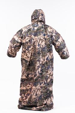 Мешок охотника ОМОН-40 расцветка Серая ситка