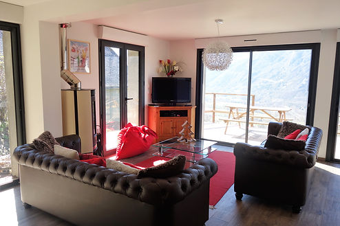 Living room Chalet Neige