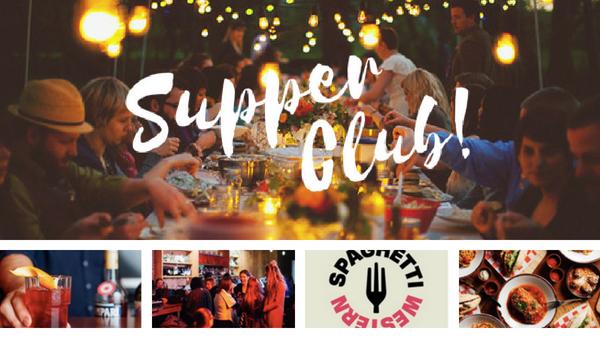 supper club dinner social singles