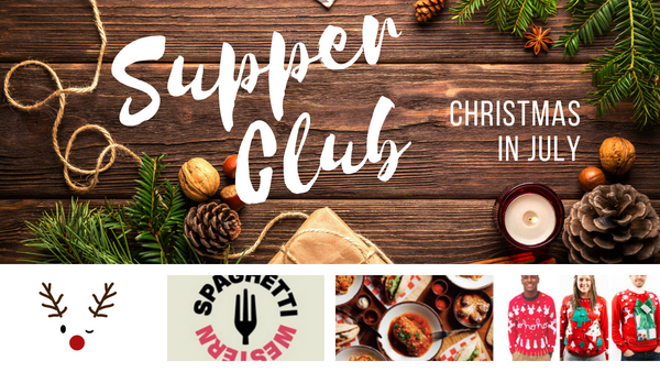 supper club singles events christmas