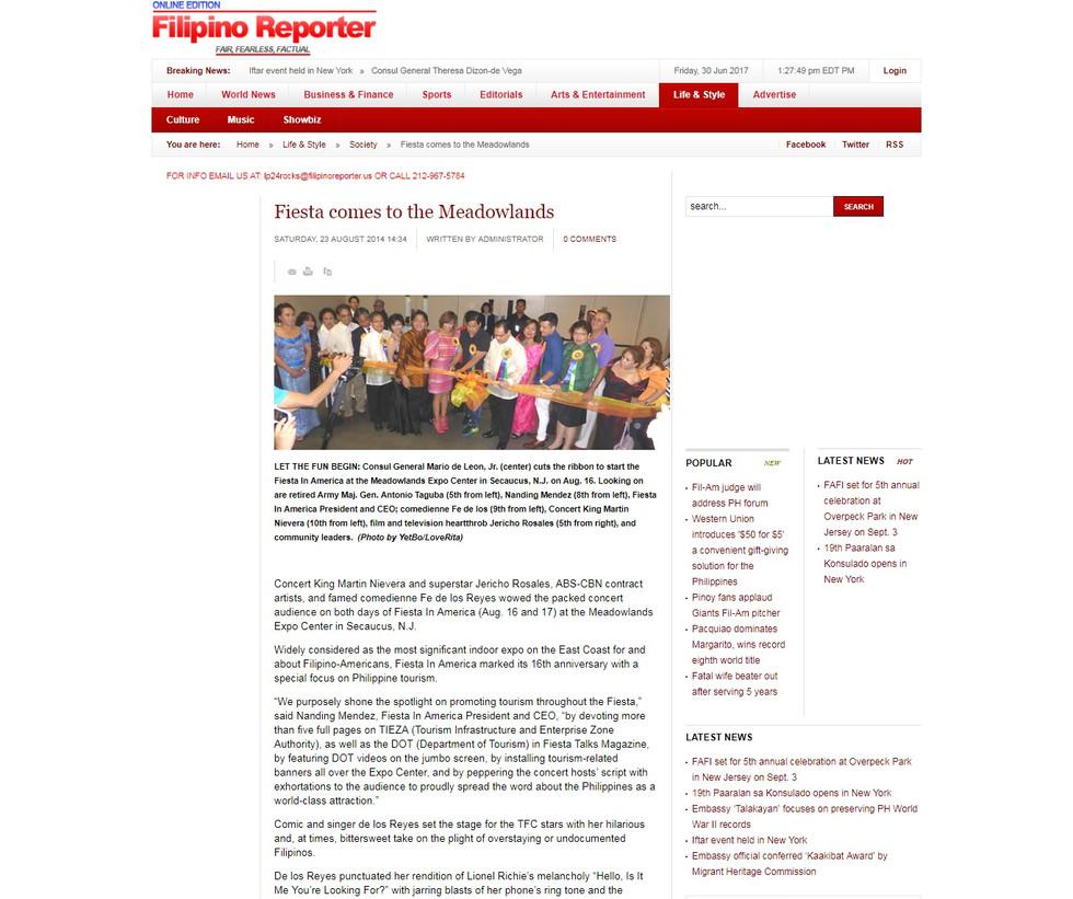 The Filipino Reporter