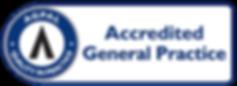 AGPAL - Accredited Symbol - General Prac