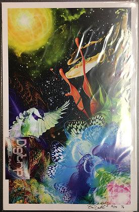 """""""Fractal Planet"""" 11x17 Print"""