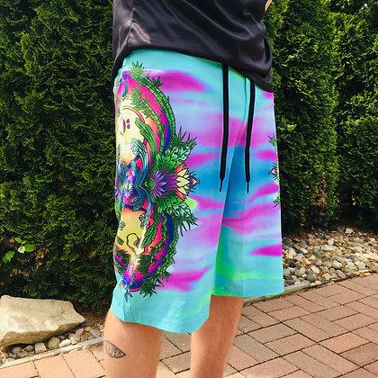 """""""Reflective Sunrise"""" Board Shorts"""