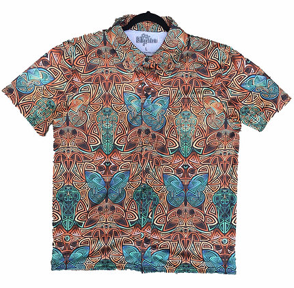 """""""Tribal Duality"""" Southwest Button-Up"""