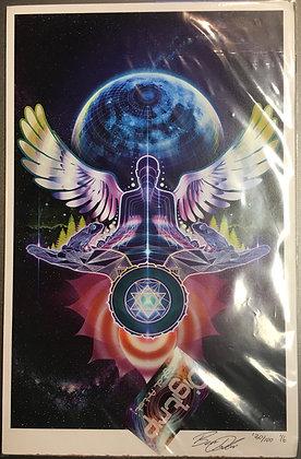 """Moonfrog"" 11x17 Print"
