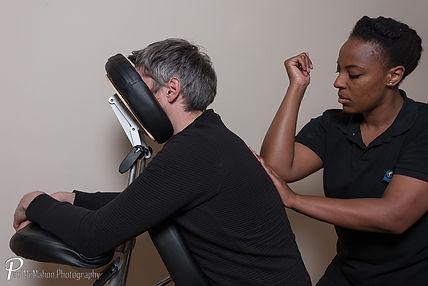 Chair massage Belfast, Corporate Seated Massage NI