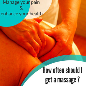 Episode 3: How often should I get a massage?