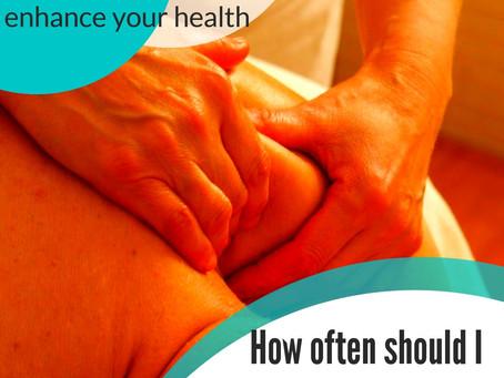 Episode 3: How often should I get a massage?
