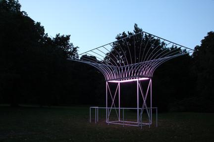 Kunstprojekt Pavillon | Dörentrup, Schloss Wendlinghausen