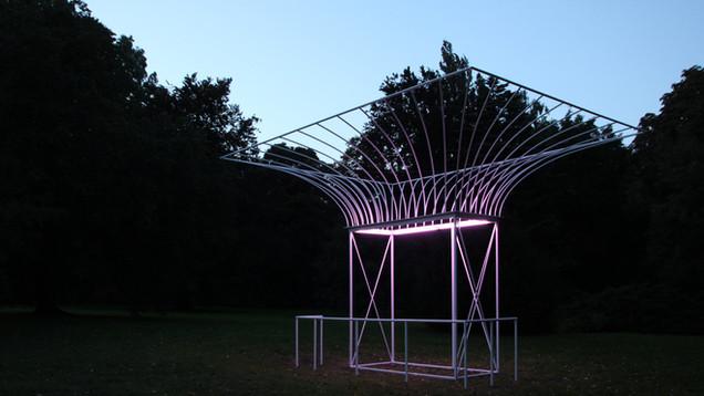 Kunstprojekt Pavillon   Dörentrup, Schloss Wendlinghausen