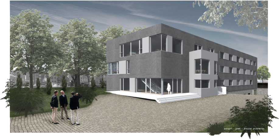 Bürohaus Künker   Visualisierung