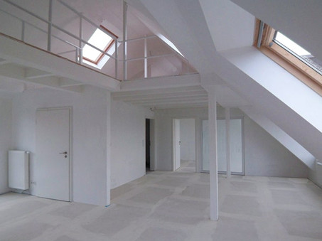 Neugestaltung einer Dachgeschosswohnung