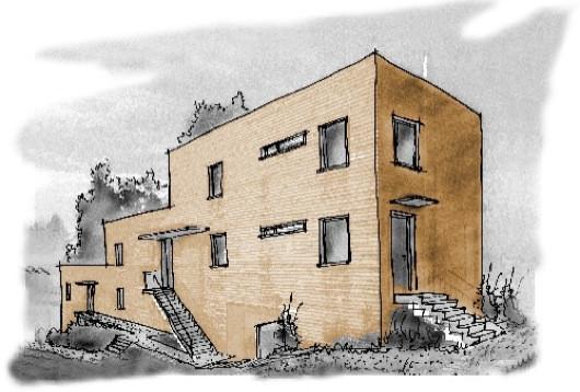 Entwurfsplanung von Mehrfamilienhäusern in Bielefeld Quelle