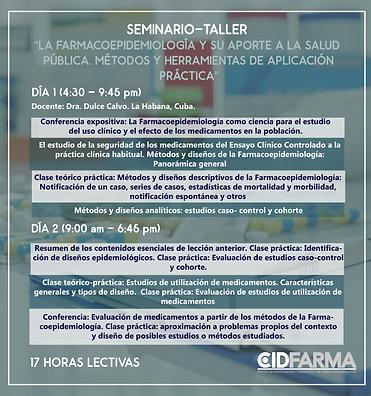programa FARMACOEPIDEMIOLOGIA WEB 2019.p