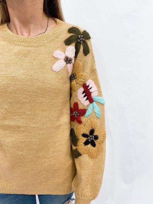C726 Sweater Flores Jane