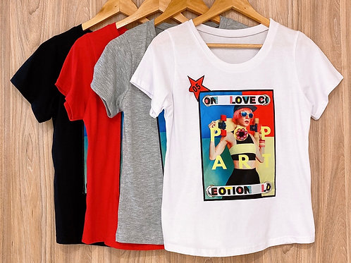 Remera Pop Art