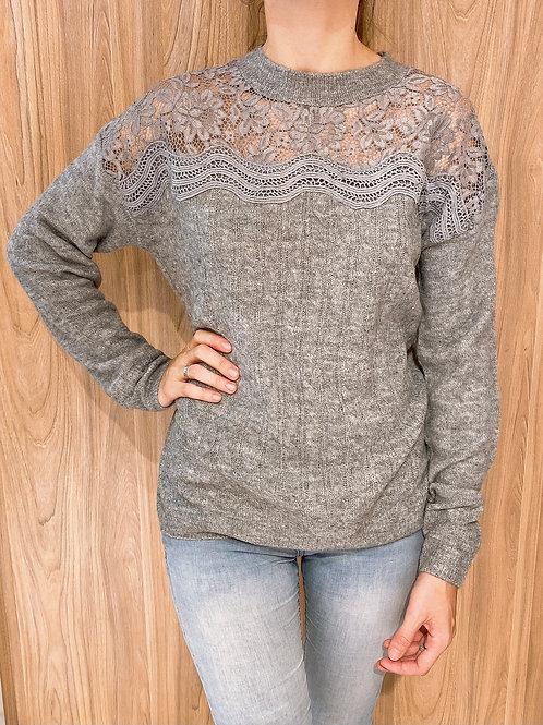 C738 Sweater Encaje Bremer Brenda