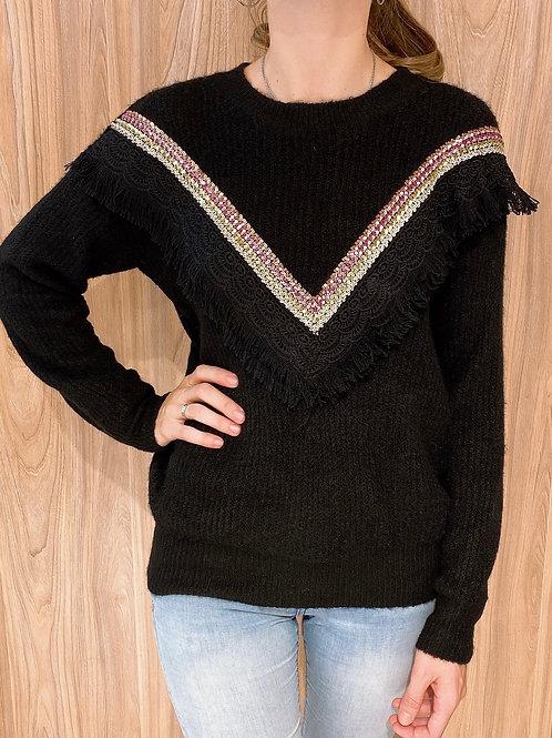 C739 Sweater Lentejuelas V Victoria