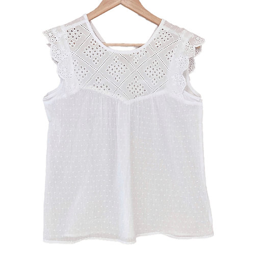 C304 MUSCULOSA BRODERIE ADE