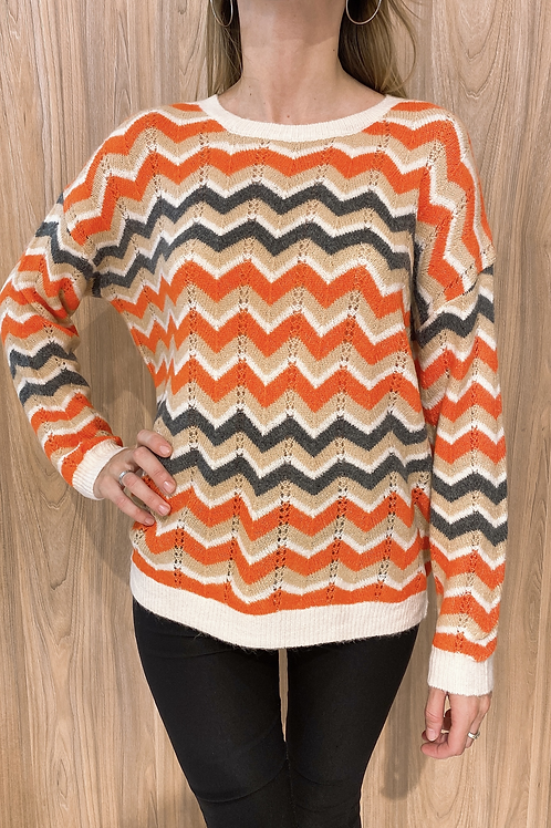 C721 Sweater Zigzag Yenn