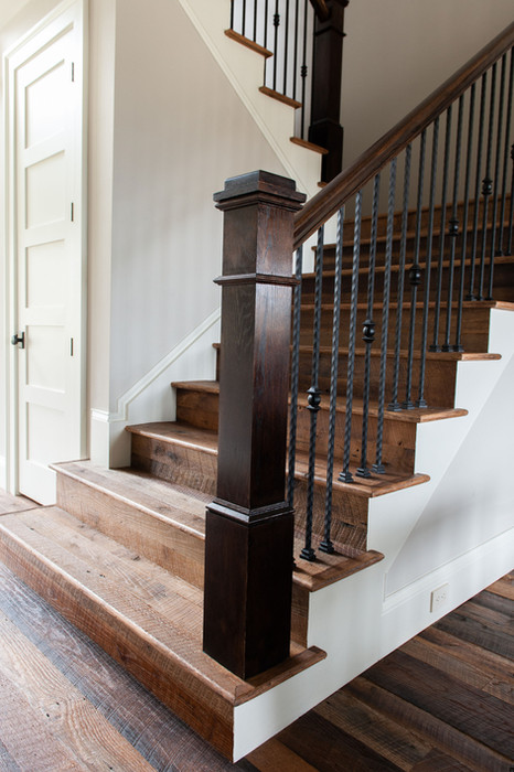 Reclaimed White Oak Stairs
