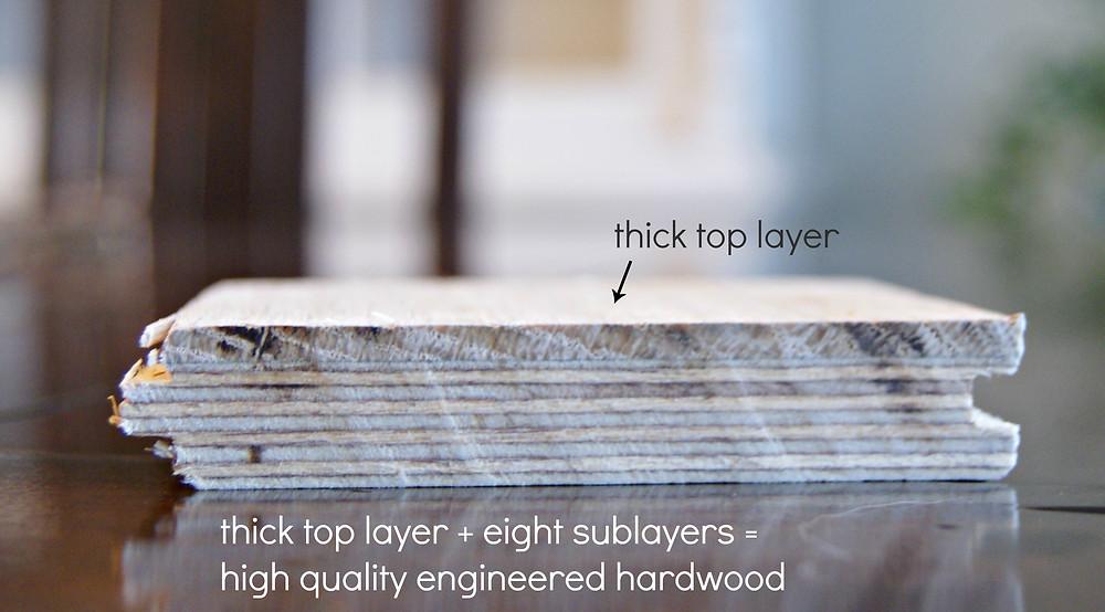 hardwood flooring Brentwood TN