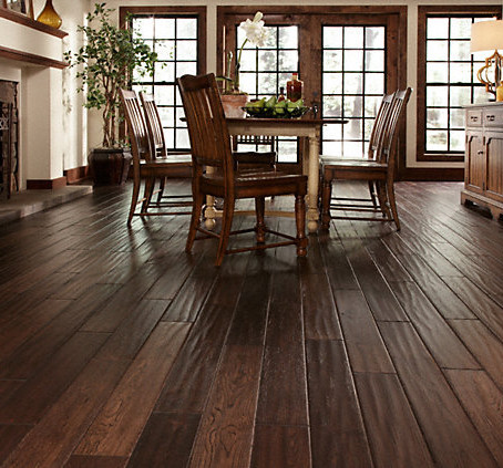 Hand Scraped Hardwood Floors: The Good, the Bad, and the Ugly
