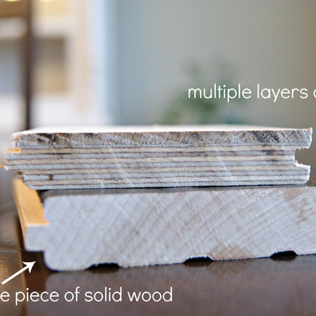 The Difference Between Solid and Engineered Hardwood Flooring