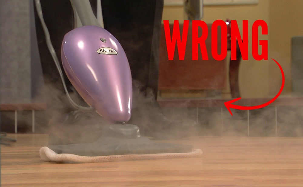 steam mop hardwood floors