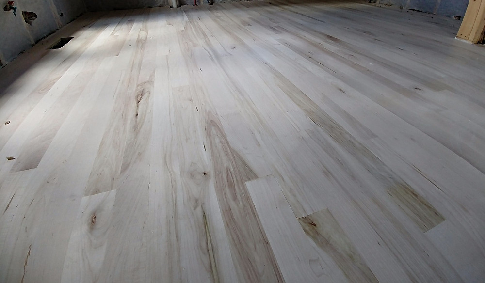 Bleached floor by Southern Oaks Flooring