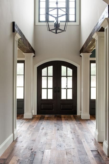 Reclaimed White Oak Floor