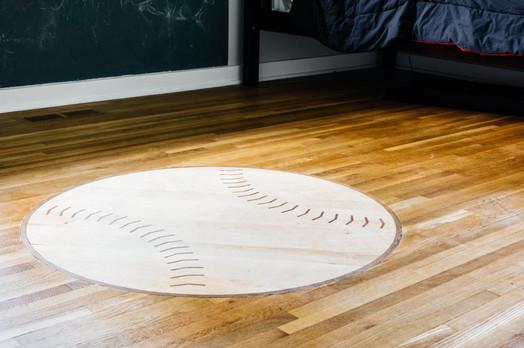 Custom Baseball Inlay