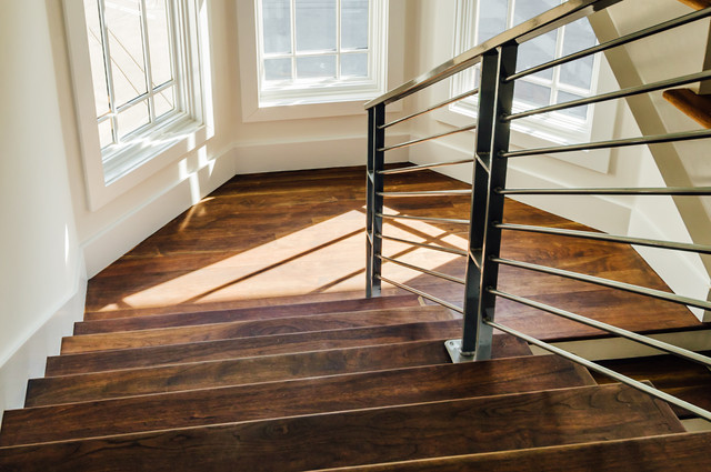Walnut Hardwood Stairs
